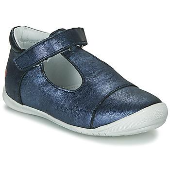 Pantofi Fete Balerin și Balerini cu curea GBB MERCA Albastru
