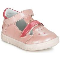 Pantofi Fete Balerin și Balerini cu curea GBB ARAMA Roz