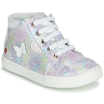 Pantofi Fete Pantofi sport stil gheata GBB MEFITA Argintiu / Roz