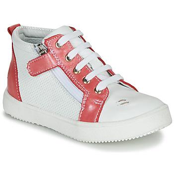 Încăltăminte Fete Pantofi sport stil gheata GBB MIMOSA Vte / Alb-coral / Dpf / Dinner