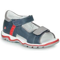Pantofi Copii Sandale și Sandale cu talpă  joasă GBB PARMO Albastru