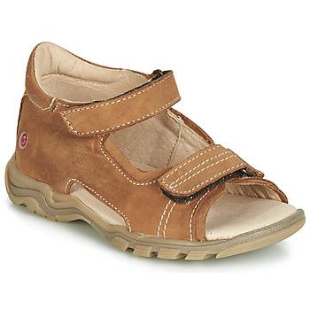Pantofi Copii Sandale și Sandale cu talpă  joasă GBB PARMO Maro
