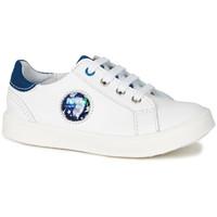 Pantofi Băieți Pantofi sport Casual GBB URSUL Vte / Alb-albastru / Led / Dpf / 2706