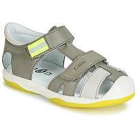Pantofi Băieți Sandale  GBB BERTO Gri / Galben