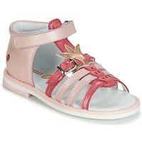 Pantofi Fete Sandale și Sandale cu talpă  joasă GBB CARETTE Roz