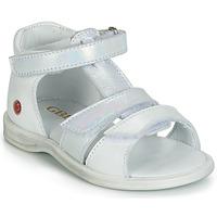Pantofi Fete Sandale și Sandale cu talpă  joasă GBB NAVIZA Alb