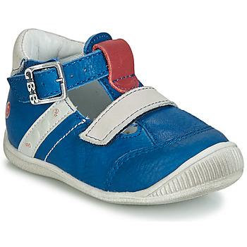 Pantofi Băieți Sandale  GBB BALILO Albastru / Gri / Roșu