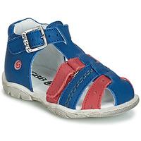 Pantofi Băieți Sandale și Sandale cu talpă  joasă GBB ARIGO Albastru / Roșu