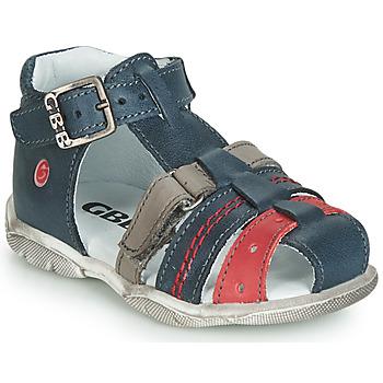 Pantofi Băieți Sandale și Sandale cu talpă  joasă GBB ARIGO Albastru