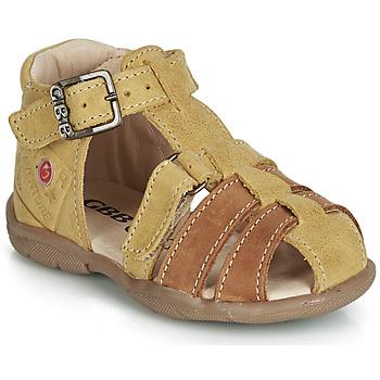 Pantofi Băieți Sandale și Sandale cu talpă  joasă GBB PRIGENT MuȘtar