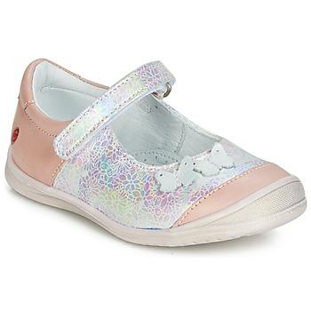 Pantofi Fete Balerin și Balerini cu curea GBB SACHIKO Roz