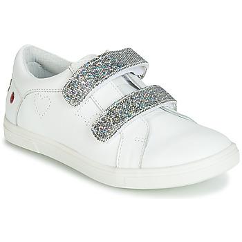 Pantofi Fete Pantofi sport Casual GBB BALOTA Alb / Argintiu