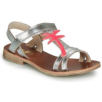 Încăltăminte Fete Sandale și Sandale cu talpă  joasă GBB SAPELA Argintiu