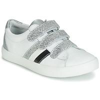 Pantofi Fete Pantofi sport Casual GBB MADO Alb / Argintiu