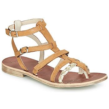 Încăltăminte Fete Sandale și Sandale cu talpă  joasă GBB NOVARA Maro