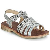 Încăltăminte Fete Sandale și Sandale cu talpă  joasă GBB BANGKOK Vte / Argintiu / Dpf / Coca
