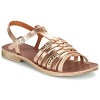 Pantofi Fete Sandale și Sandale cu talpă  joasă GBB BANGKOK Roz / Gold