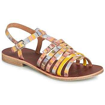 Încăltăminte Fete Sandale și Sandale cu talpă  joasă GBB BANGKOK Multico / Galben