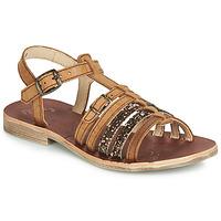 Pantofi Fete Sandale și Sandale cu talpă  joasă GBB BANGKOK Coniac