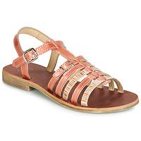 Încăltăminte Fete Sandale și Sandale cu talpă  joasă GBB BANGKOK Roșu