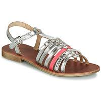 Încăltăminte Fete Sandale și Sandale cu talpă  joasă GBB BANGKOK Argintiu