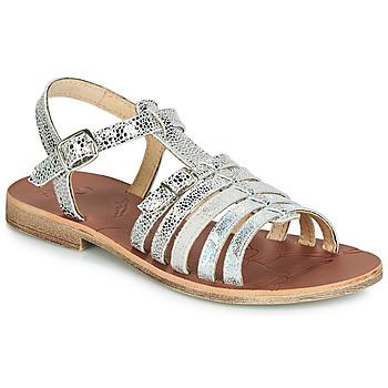 Pantofi Fete Sandale  GBB BANGKOK Argintiu