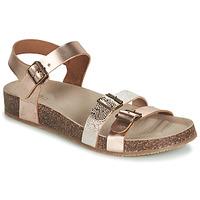 Pantofi Fete Sandale și Sandale cu talpă  joasă GBB BIGA Roz / Gold / Auriu