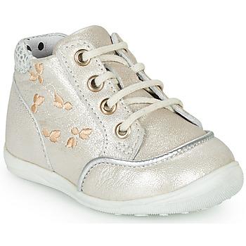 Pantofi Fete Pantofi sport stil gheata Catimini BALI Vte / Bej-argintiu / Dpf / Gluck