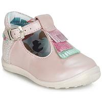 Pantofi Fete Balerin și Balerini cu curea Catimini BIMA Roz
