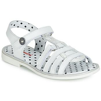 Pantofi Fete Sandale  Catimini MUNDA Alb