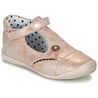Pantofi Fete Balerin și Balerini cu curea Catimini SANTA Vte / Roz / Auriu / Dpf / Kezia