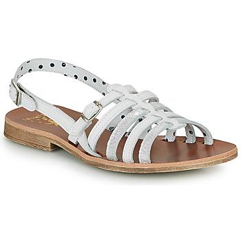 Pantofi Fete Sandale și Sandale cu talpă  joasă Catimini NOBO Alb