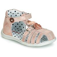 Pantofi Fete Sandale  Catimini VANUA Roz / Gold
