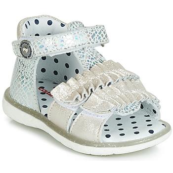Pantofi Fete Sandale și Sandale cu talpă  joasă Catimini BIRA Argintiu