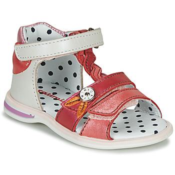 Pantofi Fete Sandale și Sandale cu talpă  joasă Catimini GOROKA Alb