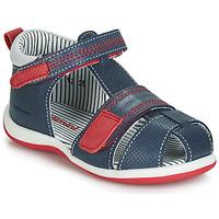 Pantofi Băieți Sandale  Catimini BALIMO Bleumarin / Roșu
