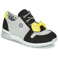 Pantofi Fete Pantofi sport Casual Catimini BANJO Argintiu / Negru