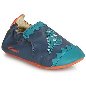 Pantofi Băieți Papuci de casă Catimini CADANO Bleumarin / Portocaliu