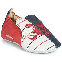 Pantofi Băieți Papuci de casă Catimini CALURA Bleumarin / Roșu