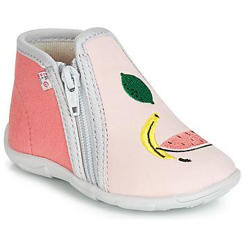 Pantofi Fete Papuci de casă GBB FERNANDA Roz
