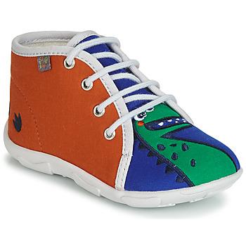 Încăltăminte Băieți Papuci de casă GBB MARCCO Ttx /  orange-bleu  / Dtx / Amis