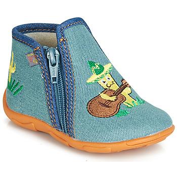 Pantofi Băieți Papuci de casă GBB FERNANDO Albastru