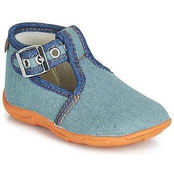 Pantofi Băieți Papuci de casă GBB SAPPO Albastru / Jean