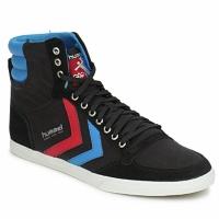 Pantofi Pantofi sport stil gheata Hummel TEN STAR HIGH CANVAS Negru / Albastru / Roșu