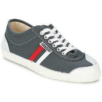 Pantofi Bărbați Pantofi sport Casual Kawasaki RETRO CORE Gri / Roșu / Alb / Dungat