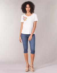Îmbracaminte Femei Pantaloni trei sferturi Yurban JATARA Albastru / Medium