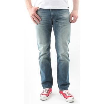 Îmbracaminte Bărbați Jeans drepti Lee Blake Worn Green L730DAUJ blue