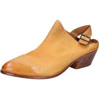 Pantofi Femei Sandale  Moma sabot sandali giallo pelle BX975 Giallo