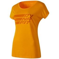 Îmbracaminte Femei Tricouri mânecă scurtă Dynafit Compound Dri-Rel Co W S/s Tee 70685-4630 orange