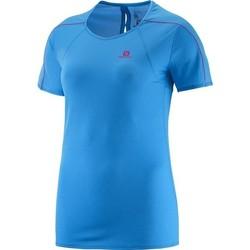 Îmbracaminte Femei Tricouri mânecă scurtă Salomon Minim Evac Tee W 371146 blue